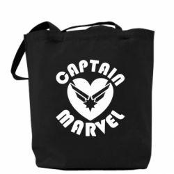 Сумка I love Captain Marvel