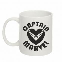 Кружка 320ml I love Captain Marvel