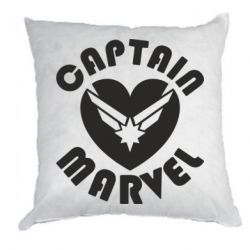 Подушка I love Captain Marvel