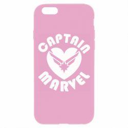 Чохол для iPhone 6 Plus/6S Plus I love Captain Marvel