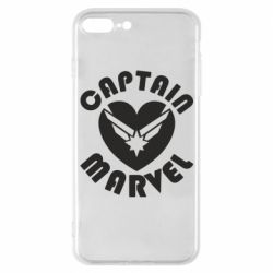 Чохол для iPhone 7 Plus I love Captain Marvel