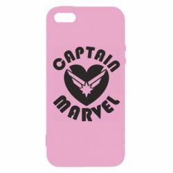 Чохол для iphone 5/5S/SE I love Captain Marvel