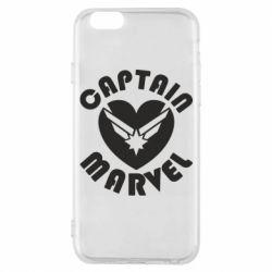 Чохол для iPhone 6/6S I love Captain Marvel