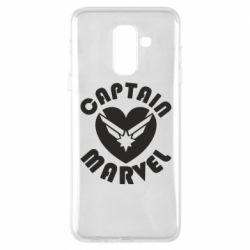 Чохол для Samsung A6+ 2018 I love Captain Marvel