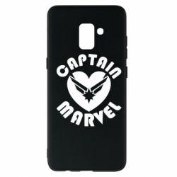 Чохол для Samsung A8+ 2018 I love Captain Marvel