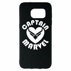 Чохол для Samsung S7 EDGE I love Captain Marvel