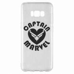 Чохол для Samsung S8+ I love Captain Marvel