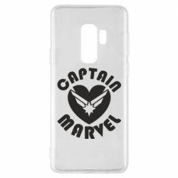 Чохол для Samsung S9+ I love Captain Marvel