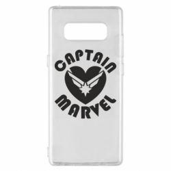 Чохол для Samsung Note 8 I love Captain Marvel