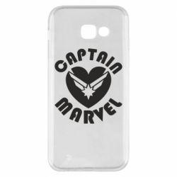 Чохол для Samsung A5 2017 I love Captain Marvel
