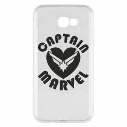Чохол для Samsung A7 2017 I love Captain Marvel