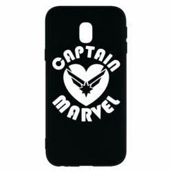 Чохол для Samsung J3 2017 I love Captain Marvel
