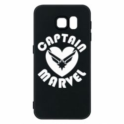 Чохол для Samsung S6 I love Captain Marvel