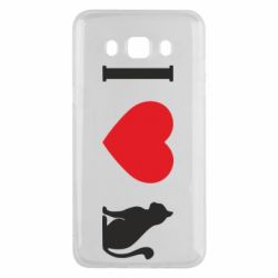 Чохол для Samsung J5 2016 I love cat