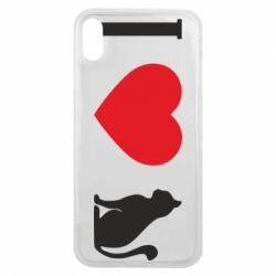Чохол для iPhone Xs Max I love cat