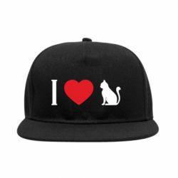 Снепбек I love cat