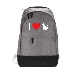 Рюкзак міський I love cat