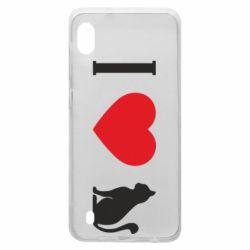 Чохол для Samsung A10 I love cat