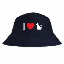 Панама I love cat