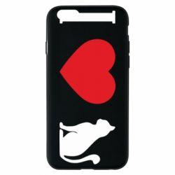Чохол для iPhone 6/6S I love cat
