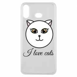 Чохол для Samsung A6s I love cats art