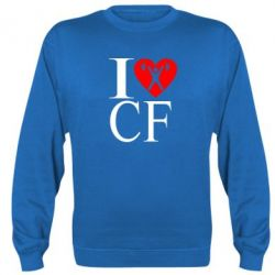 Реглан (свитшот) I love CF - FatLine