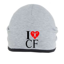 Шапка I love CF - FatLine