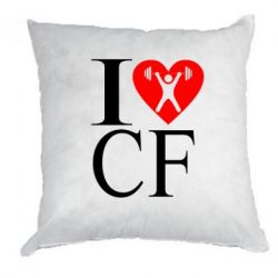 Подушка I love CF - FatLine