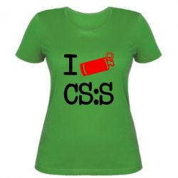 Женская I love CS Source - FatLine