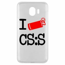 Чехол для Samsung J4 I love CS Source