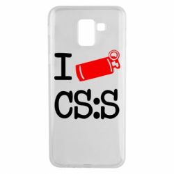 Чехол для Samsung J6 I love CS Source