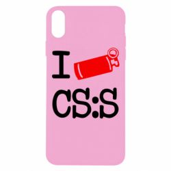 Чехол для iPhone Xs Max I love CS Source