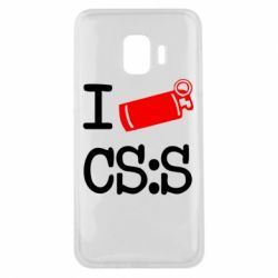 Чехол для Samsung J2 Core I love CS Source
