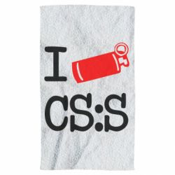 Полотенце I love CS Source