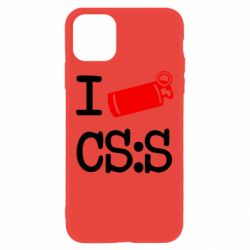 Чехол для iPhone 11 I love CS Source