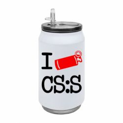 Термобанка 350ml I love CS Source