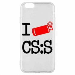 Чехол для iPhone 6/6S I love CS Source