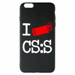Чехол для iPhone 6 Plus/6S Plus I love CS Source