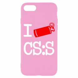 Чехол для iPhone 7 I love CS Source