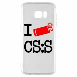 Чехол для Samsung S7 EDGE I love CS Source