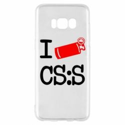 Чехол для Samsung S8 I love CS Source