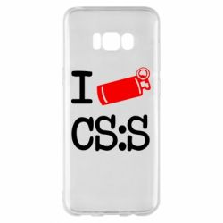 Чехол для Samsung S8+ I love CS Source