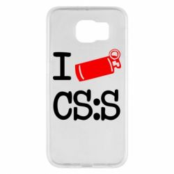Чехол для Samsung S6 I love CS Source