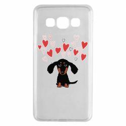 Чохол для Samsung A3 2015 I love dachshund