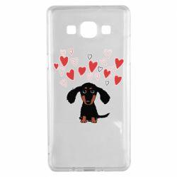 Чохол для Samsung A5 2015 I love dachshund