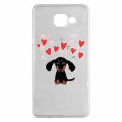 Чохол для Samsung A5 2016 I love dachshund
