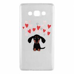 Чохол для Samsung A7 2015 I love dachshund