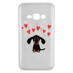 Чохол для Samsung J1 2016 I love dachshund