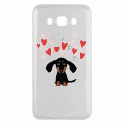 Чохол для Samsung J5 2016 I love dachshund