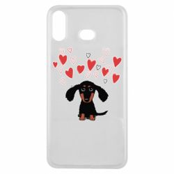 Чохол для Samsung A6s I love dachshund